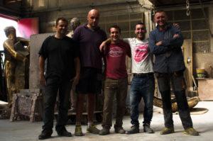 Il team della Fonderia Mapelli